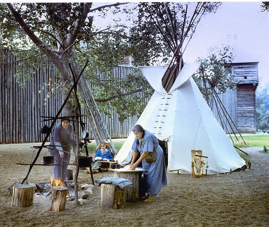 Native Encampment