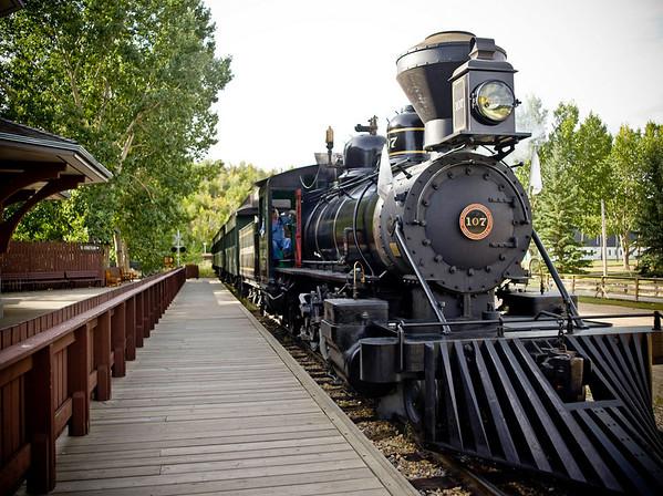 Fort Edmonton Park Train