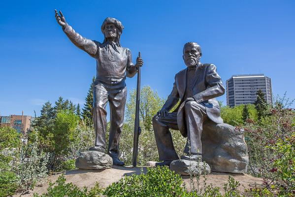 Saskatoon Statues