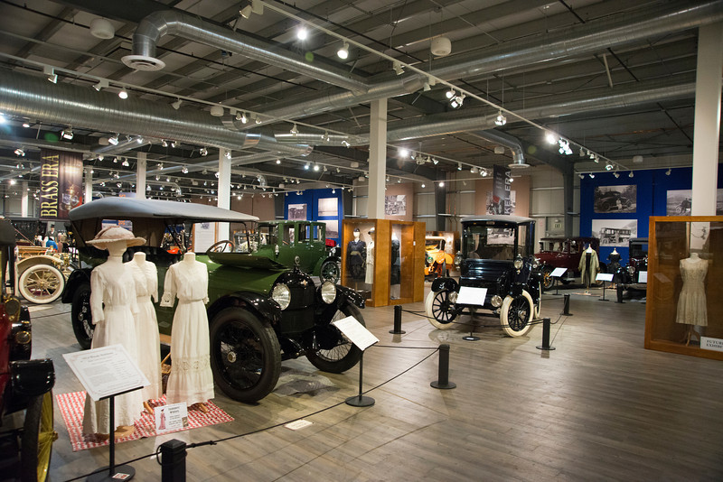 The Fountainhead Antique Auto Museum houses over 85 vehicles, including some of Alaska's earliest cars.