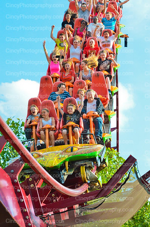 Kings Island Amusement Park Photos by David Long CincyPhotography