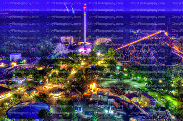 Kings Island Amusement Park Photos by David Long CincyPhotography