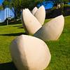 Concrete Canoes Sculptures