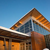 The Morris Thompson Cultural and Visitors Center in Fairbanks, Alaska.