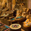 Native art at the Morris Thompson Cultural and Visitors Center in Fairbanks, Alaska.