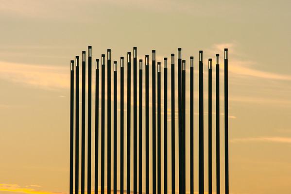 Prairie Wind Landmark in Saskatoon, Canada