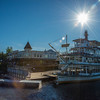 The Riverboat Discovery at its home dock at Steamboat Landing, Fairbanks, Alaska.