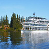 The Riverboat Discovery on the Chena River in Fairbanks, Alaska.