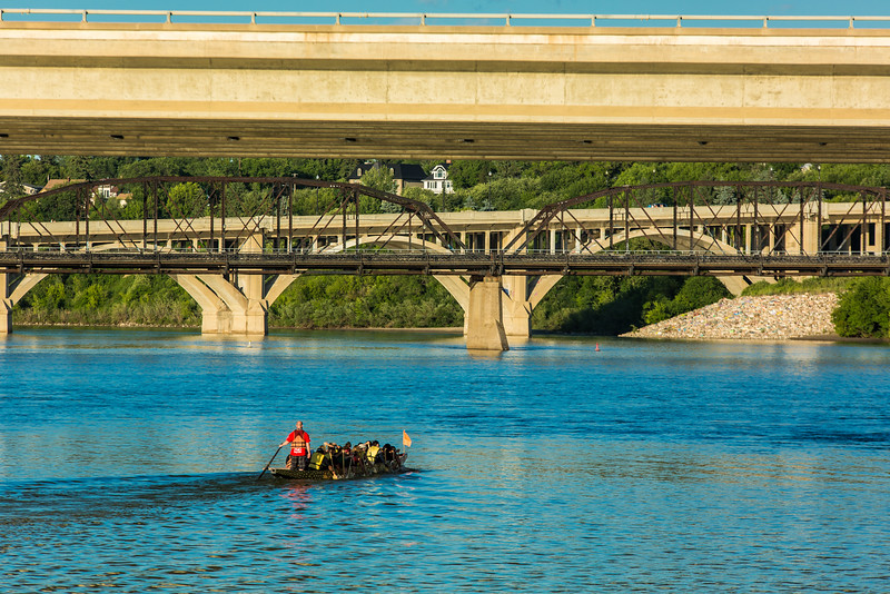 Dragon Boat Race in Saskatoon, Canada
