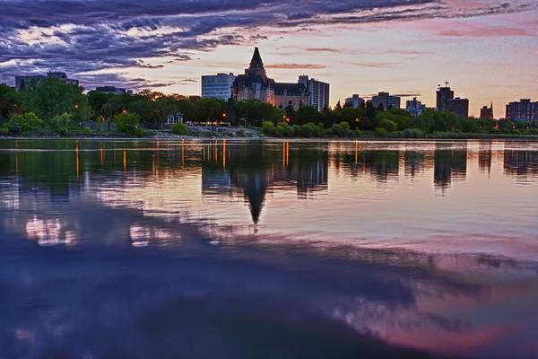 Delta Bessborough Hotel in Saskatoon, Canada