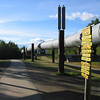 Credit: Angie Cerny/FCVB<br /> <br /> The Trans-Alaska Oil Pipeline near Fairbanks, Alaska.