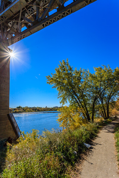 Weir in Saskatoon