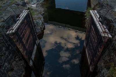 Slusene ved Storstraumen