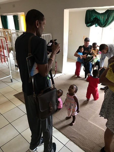 CDU Legal Counsel  and church elder is also documenting his mission to an Orphan Care Facility South Africa