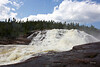 cascade de la chute manitou, Rivière au Tonnerre
