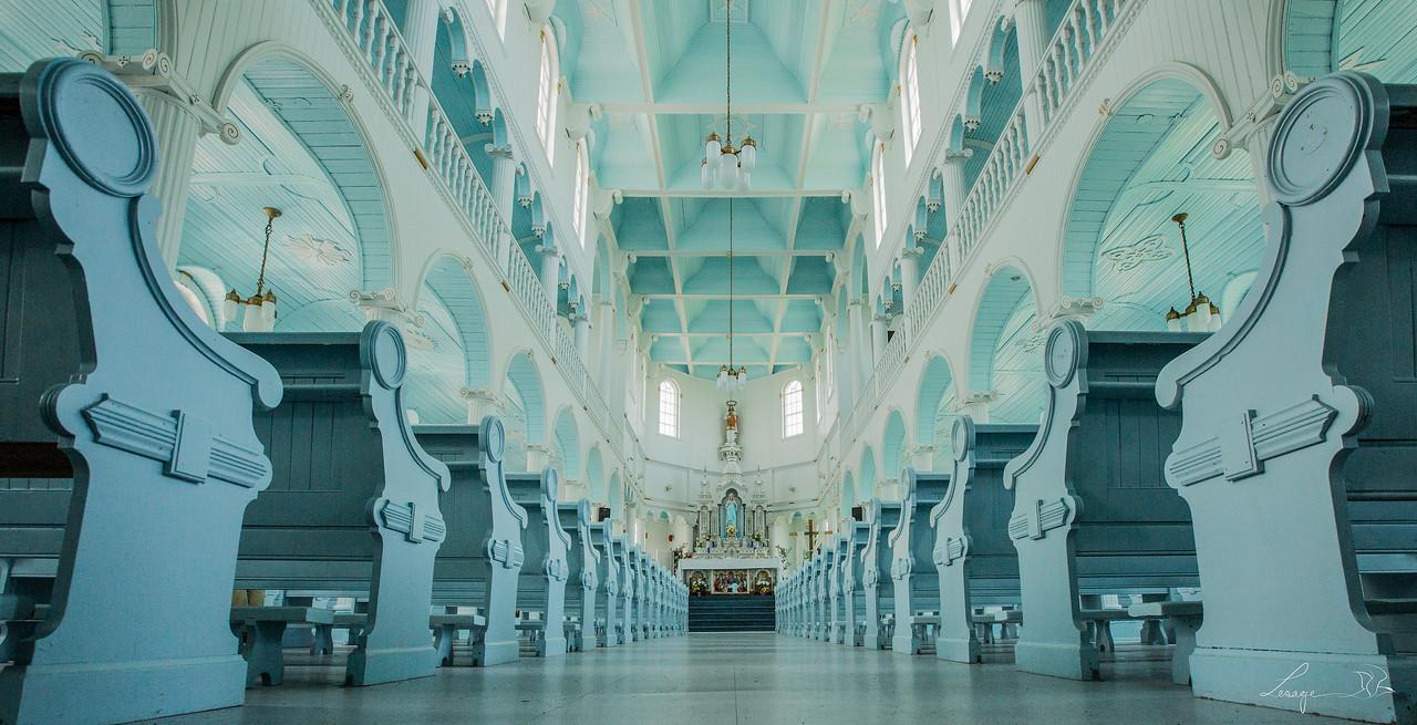 Eglise de Rivière au Tonnerre.