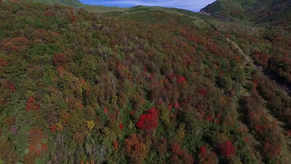 8 Flying over Hairpin Ridge