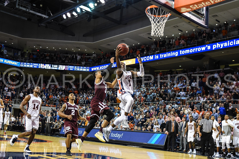 2017-18 Texas A&M at Auburn Mens' Basketball