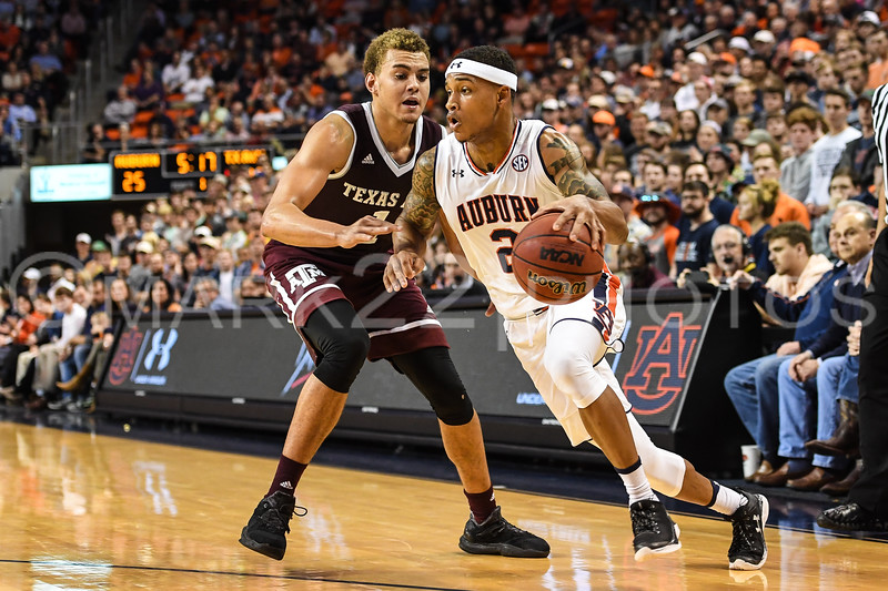 2017-18 Texas A&M at Auburn Mens' Basketball