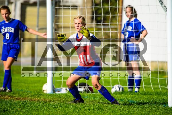 Auburn vs Oswego Girls Soccer 10-05-18