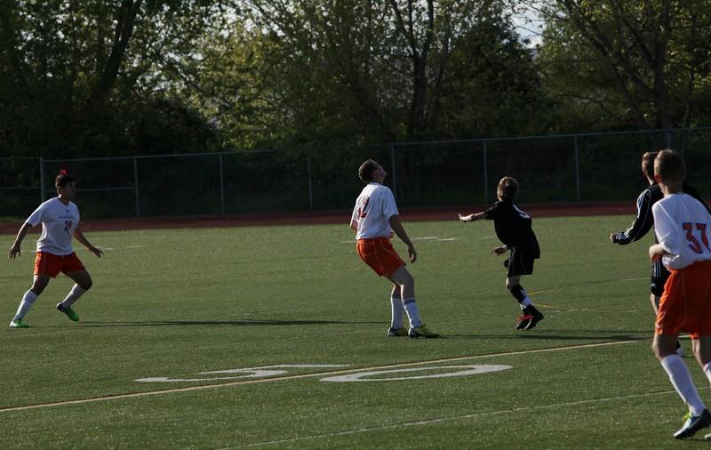 2015 AMHS Boys Soccer JV vs Bonney Lake - May 4