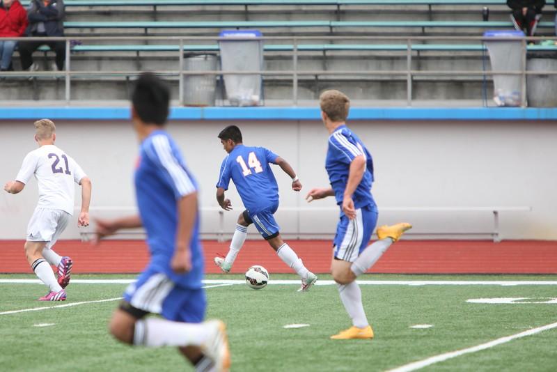 2015 AMHS Boys Soccer vs Sumner - May 16