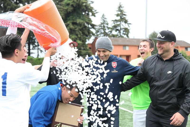 2016 AMHS Boys Soccer vs Capital - May 14