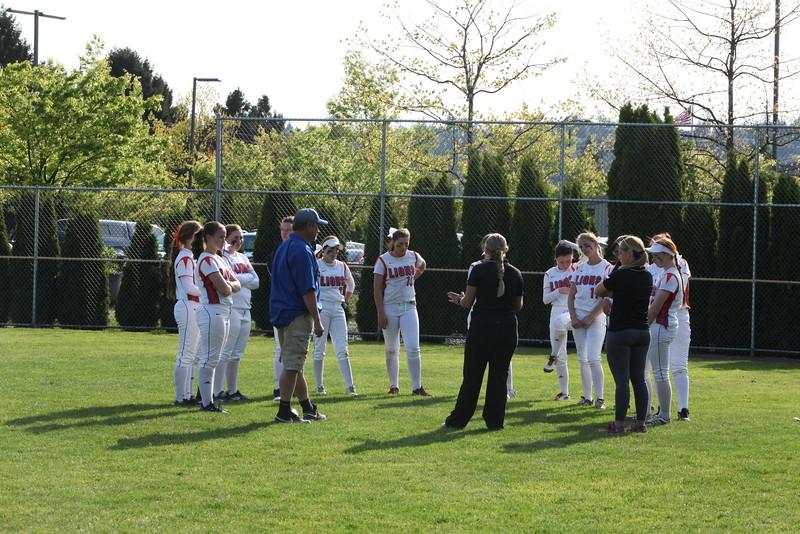 2015 AMHS Fast Pitch April 30 vs Auburn