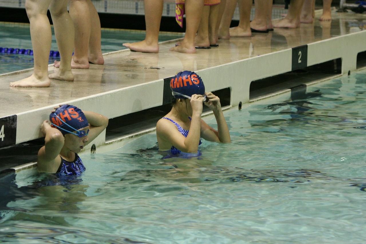 AMHS Girls Swim & Dive vs Bonney Lake 9-16-10