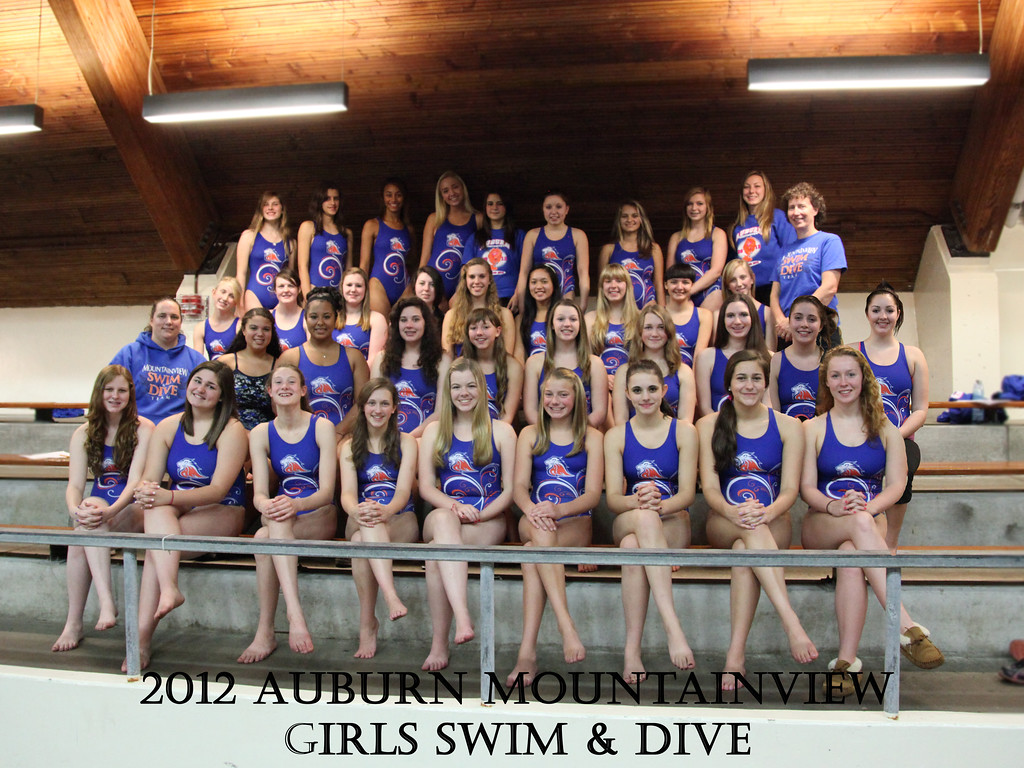 AMHS Girls Swim and Dive 2012