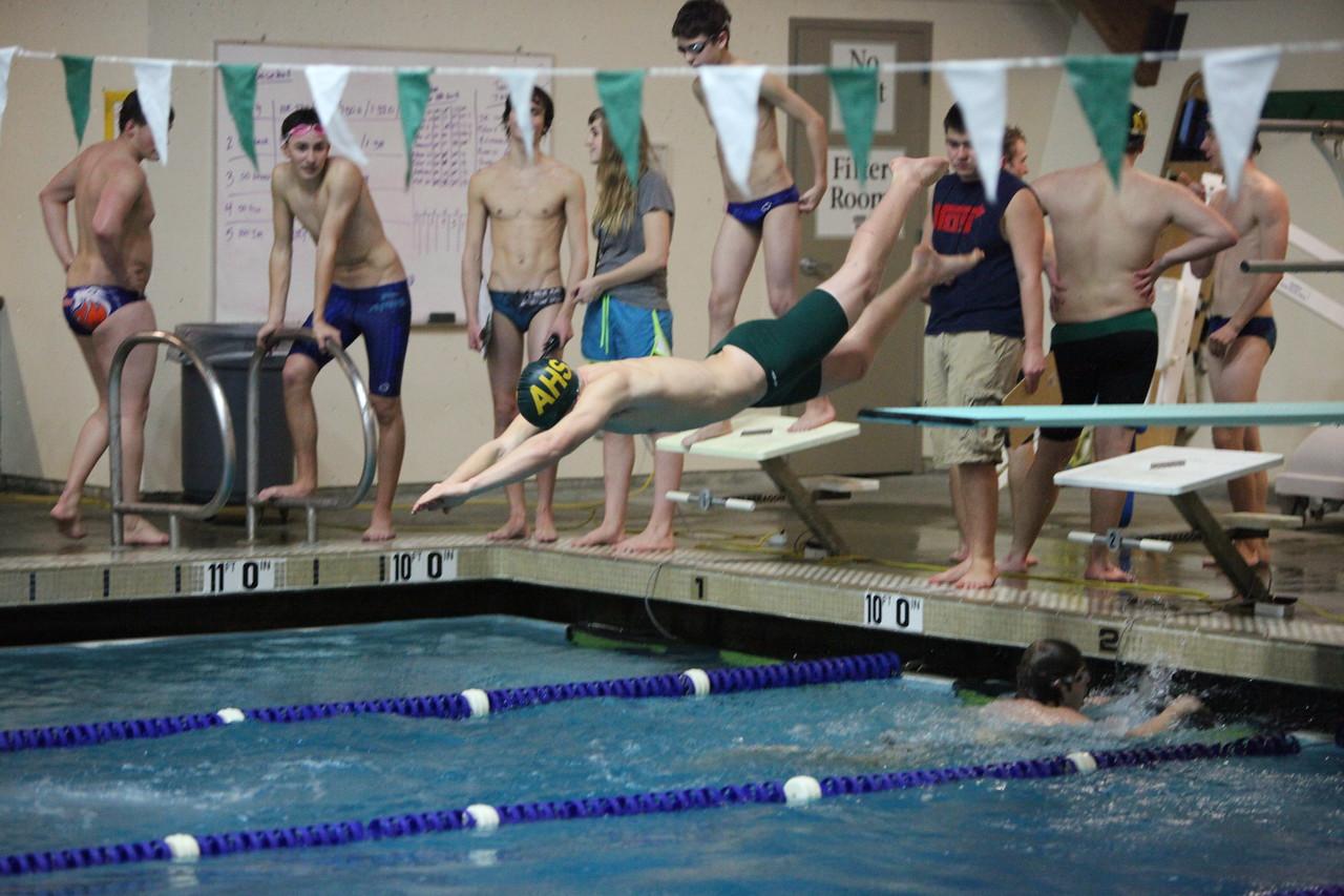 Auburn All City Boys Swim Meet Jan 4 2013