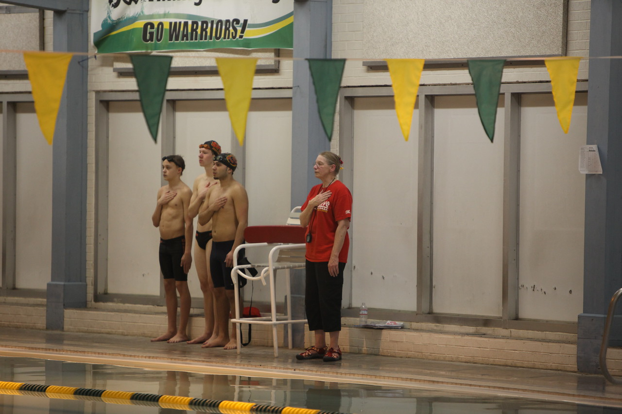 2014 AMHS Boys Swim vs Steilacoom Jan 7