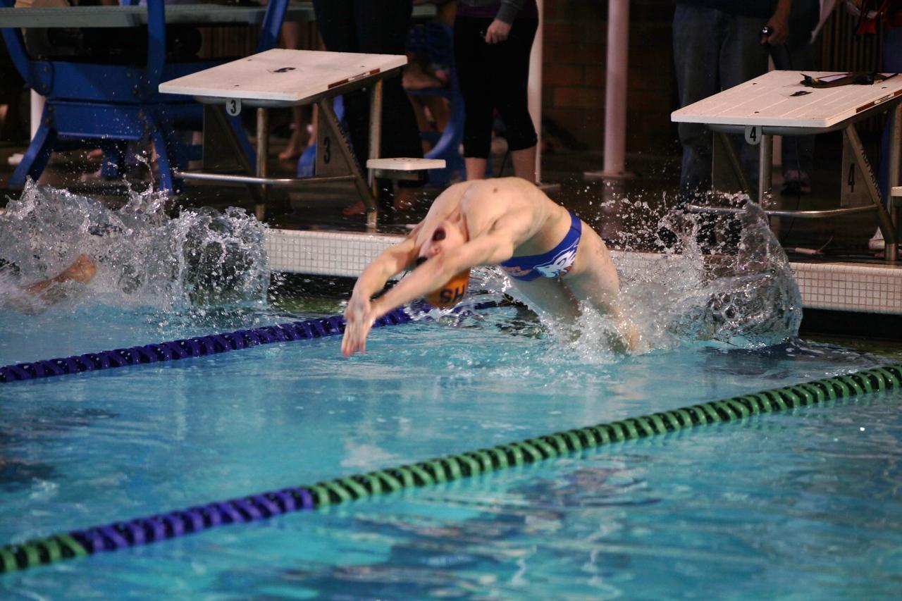 AMHS Boys Swim and Dive 2010-12-10 Lindbergh