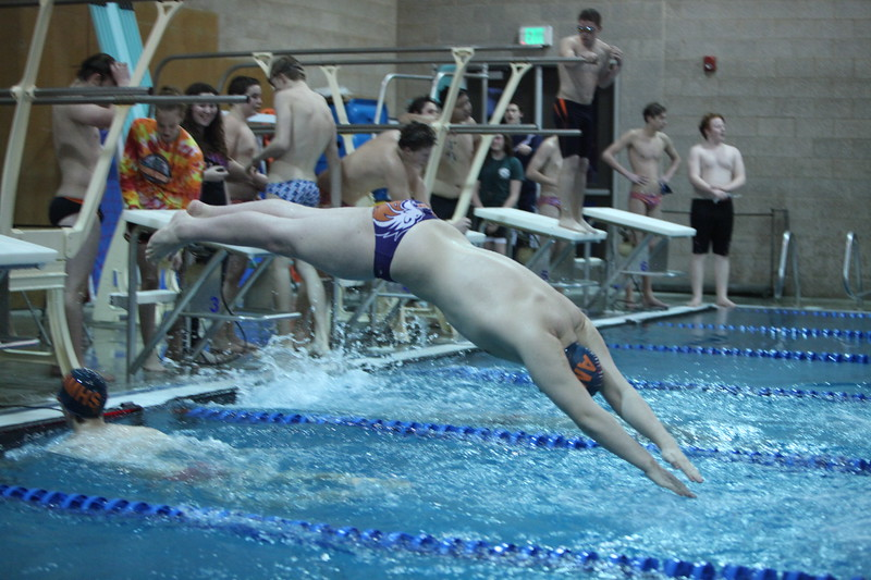 Auburn Mountainview Swim and Dive vs Lakes 1-5-2012