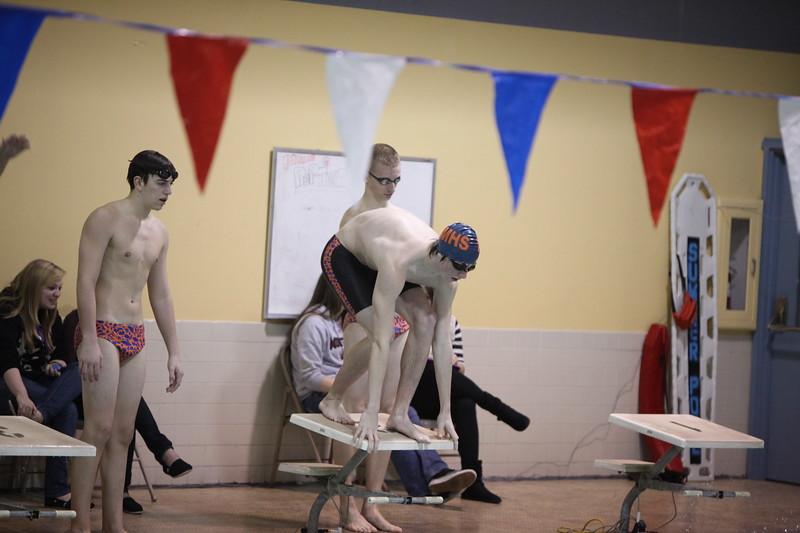 Auburn Mountainview Swim and Dive vs Sumner 12-8-11