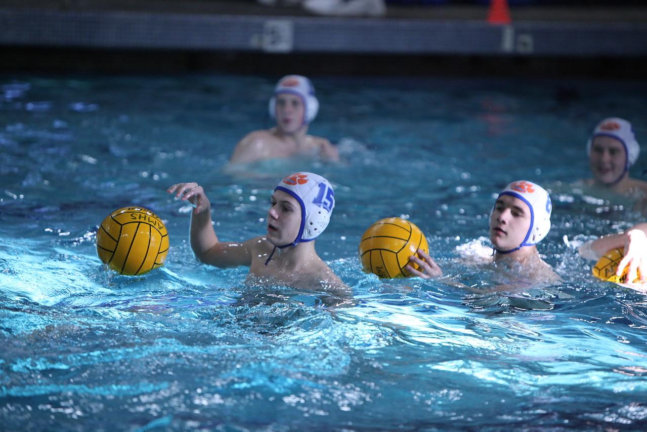 AMHS Boys Water Polo 10-12-10 vs Enumclaw