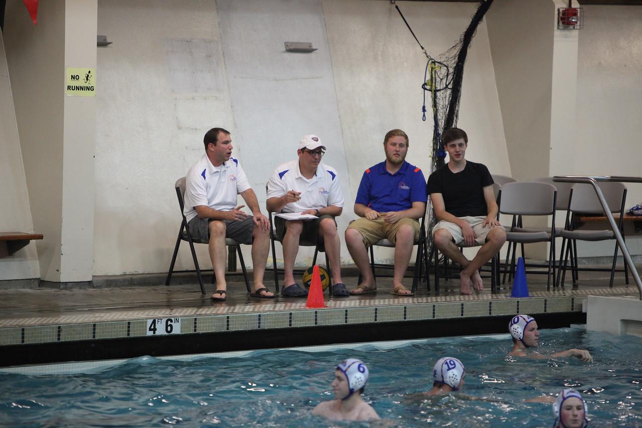 2014 AMHS Boys Water Polo vs Auburn - Sept 16
