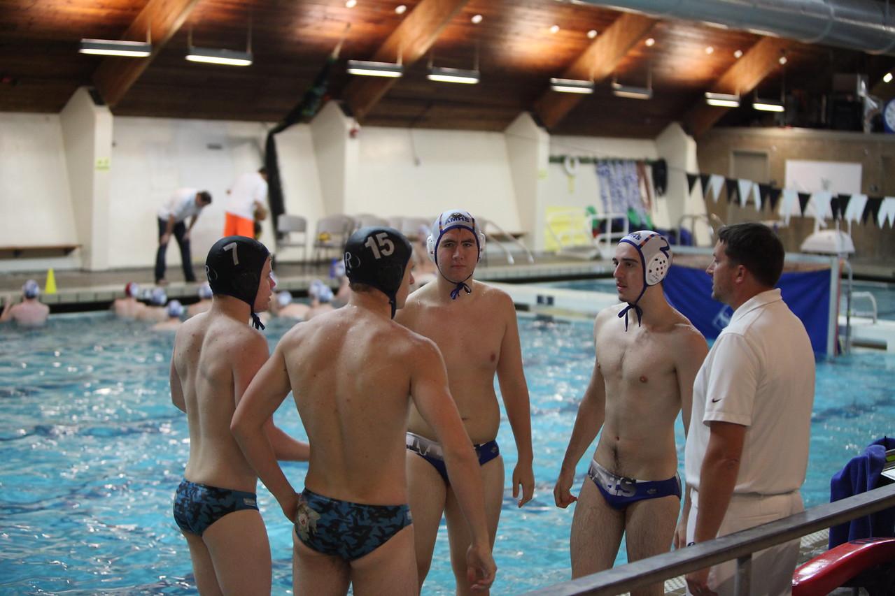 AMHS Boys Water Polo vs Auburn Riverside - Oct 22 2014