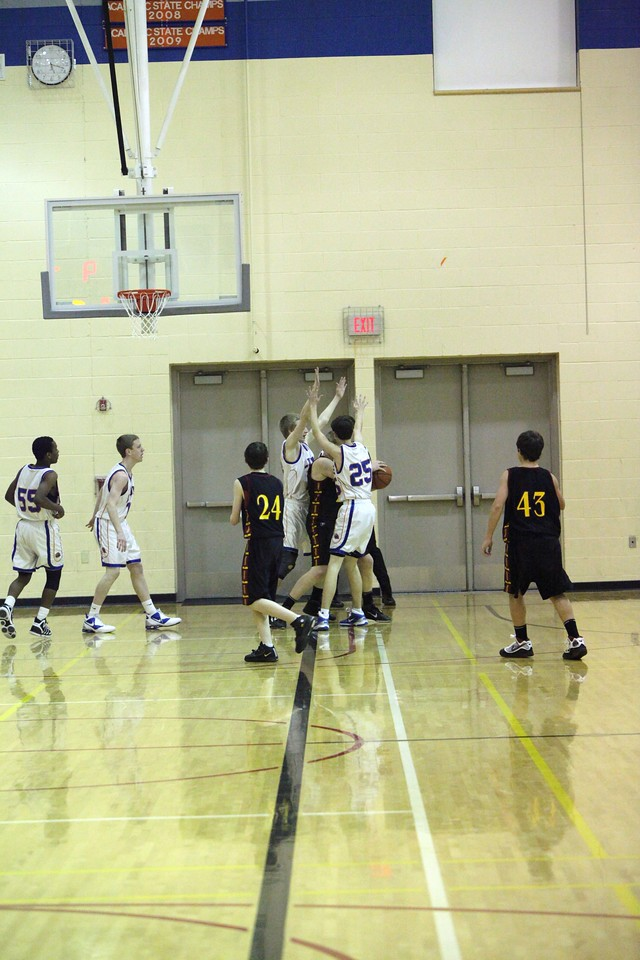 AMHS Basketball - C team vs Enumclaw - Feb 1, 2011