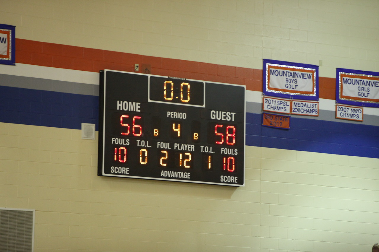 Auburn Mountainview Boys Basketball vs Decatur Jan 31 2013