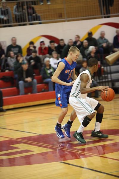 Auburn Mountainview Boys Basketball vs Timberline Feb 12 2013