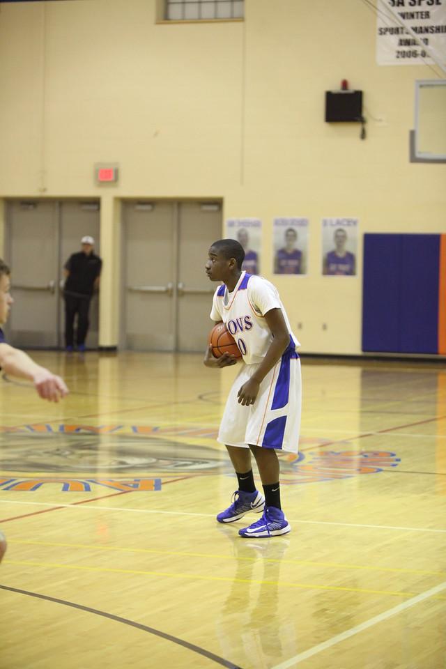 JV Auburn Mountainview Boys Basketball vs Decatur Jan 31 2013