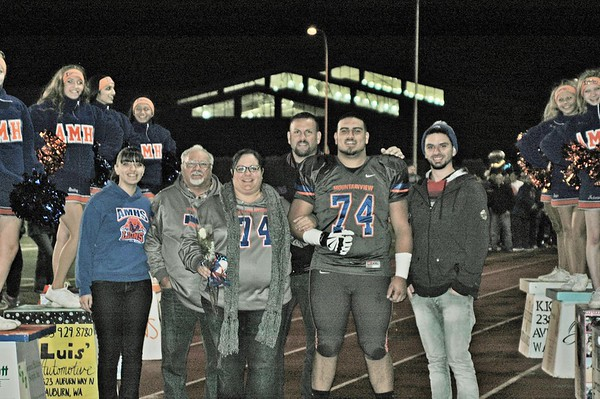 2015 Auburn Mountainview Football