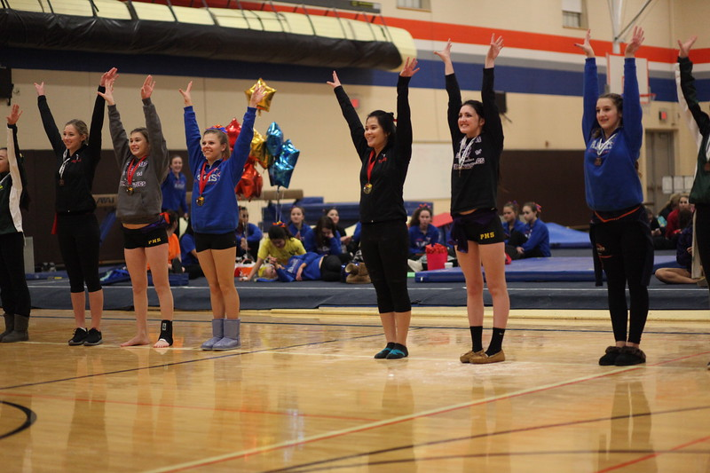 2015 AMHS Girls Gymnastics - Jan 21