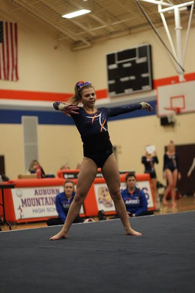 2015-01-21 AMHS Gymnastics Senior Night 911