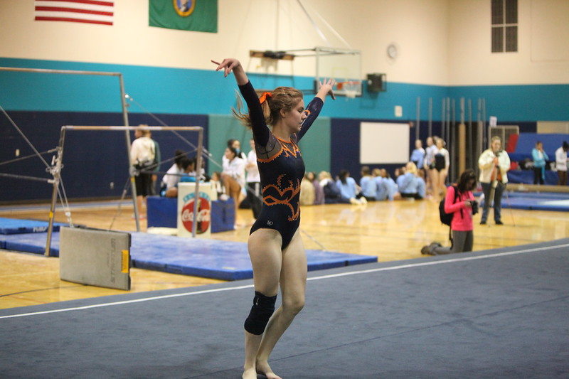 Auburn Mountainview Girls Gymnastics Jan 25 2012