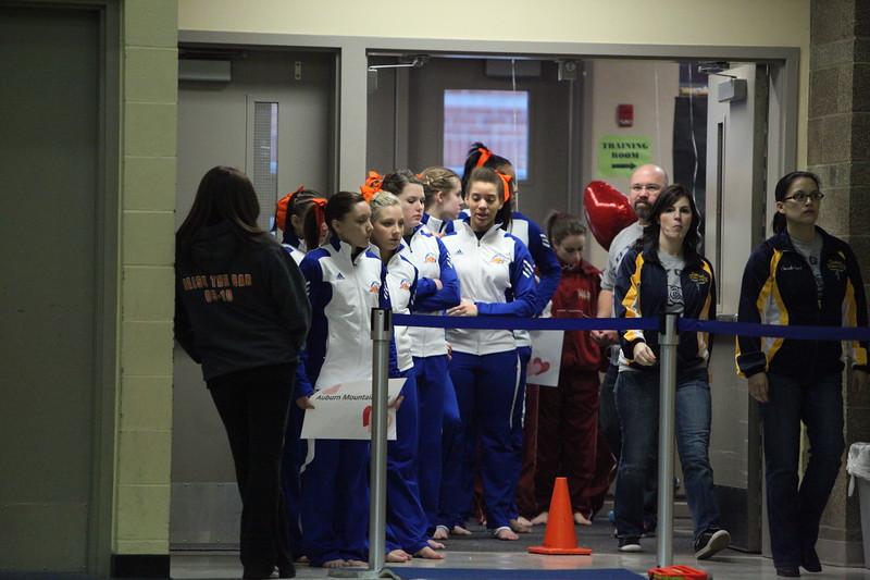 Girls Gymnastics Districts Feb 11 2011