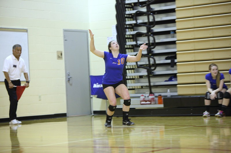 Auburn Mountainview Volleyball Districts Nov 2 2012