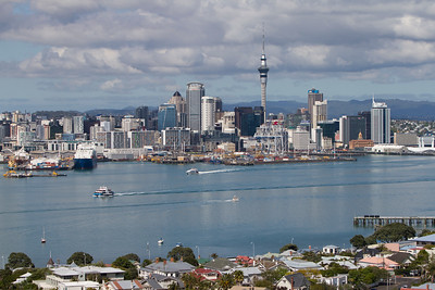 Auckland Cityscape from Mount Victoria