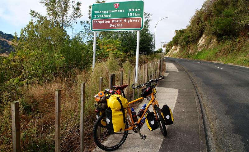 Day 5 Start of the Forgotten World Highway